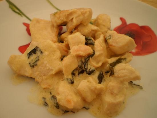 Poulet basilic