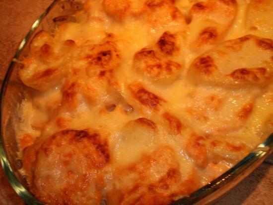 Gratin aux patates douces