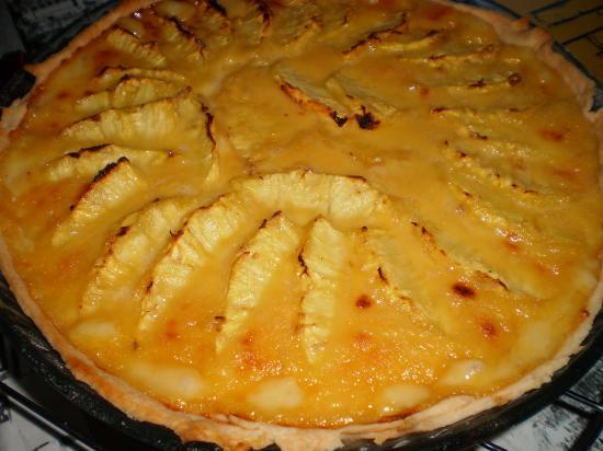 Tarte ananas frais